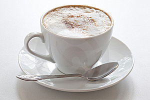 Cup Of Cappuccino Royalty Free Stock Image - Image: 15761166