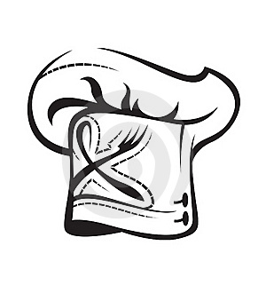 Chef Hat With Spoon And Fork Royalty Free Stock Photography - Image: 15761477