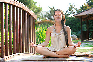 Women Doing Yoga Stock Images - Image: 15761954