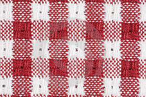 Red And White Gingham Checkered Macro Background Royalty Free Stock Photo - Image: 15764035