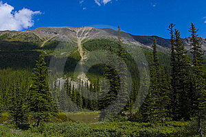 Consolation Lakes Mountain In Banff Stock Image - Image: 15766331