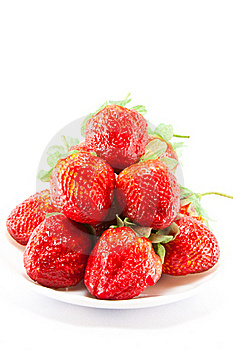 Isolated Fruits - Strawberries Royalty Free Stock Photography - Image: 15766417