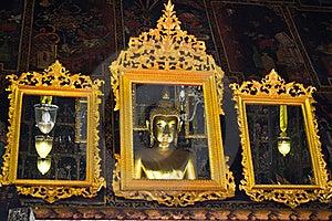 Reflection Buddha Image Royalty Free Stock Photos - Image: 15766648