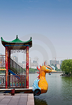 Floating Restaurant Boat Royalty Free Stock Images - Image: 15767209