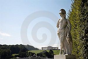 Vienna - Mythology Statue - Schonbrunn Stock Image - Image: 15768761
