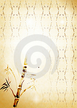 Bamboo Carelessly Drawn Stock Photography - Image: 15769182
