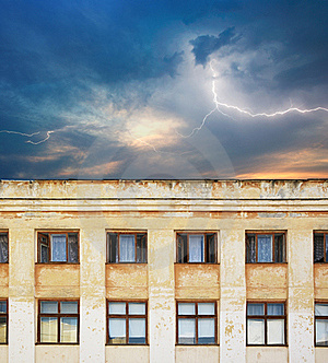 Scary Building Stock Photography - Image: 15770082