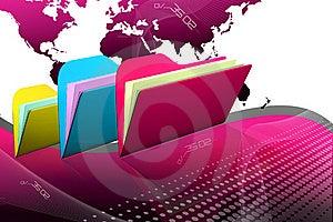 File Folder Royalty Free Stock Photo - Image: 15770085