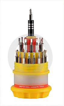 Small Tool Kit Royalty Free Stock Image - Image: 15770606
