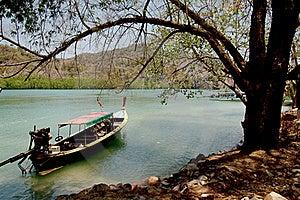 Longtail Boat Royalty Free Stock Image - Image: 15770816