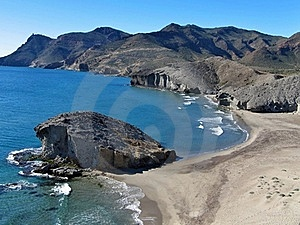 Volcanic Coast  Stock Image - Image: 15772091