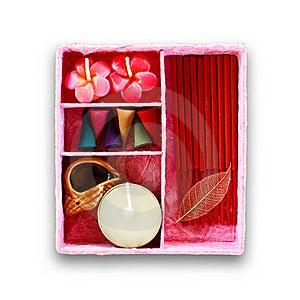 комплект свечки душистый Стоковые Фото - изображение: 15774233
