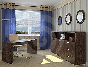 Modern Office Interior Stock Image - Image: 15774531