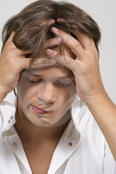 Upset Young Man Stock Photography - Image: 15774602