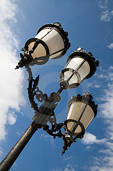 Street Lights Royalty Free Stock Images - Image: 15777679