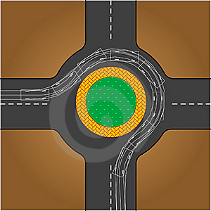 Road Testing Trace Stock Image - Image: 15777971