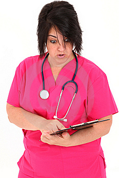 Forty Year Old Nurse Royalty Free Stock Photography - Image: 15779087