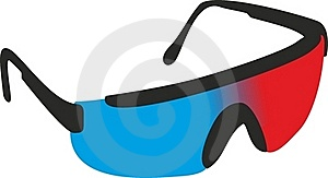 3D Glasses Royalty Free Stock Images - Image: 15781169