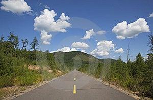 Straight Road Royalty Free Stock Photos - Image: 15782998