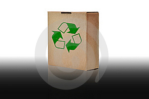 Recycle Paper Box Stock Photo - Image: 15783060