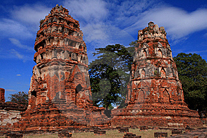 Historic Site Of Ayutthaya Stock Photo - Image: 15783240