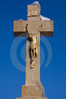 Jesus On A Cross Stock Photos - Image: 15783653