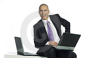 Smiling Confident Businessman Stock Photography - Image: 15783912