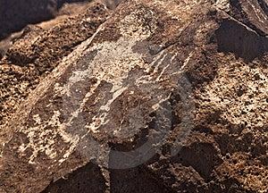 Ancient Indian Petroglyph Stock Photo - Image: 15787440