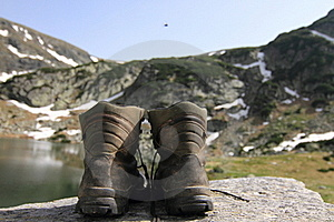 Hiking Boots Royalty Free Stock Images - Image: 15792299