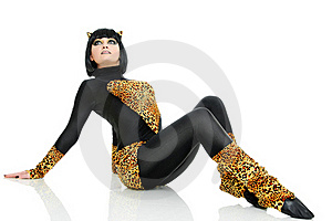 Like A Cat Stock Image - Image: 15794061