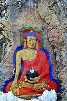 Carved Stone Buddha Royalty Free Stock Photos - Image: 15794418
