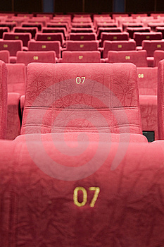 Seats #7 Stock Images - Image: 15794594