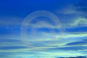 Blue Sky Royalty Free Stock Image - Image: 1581606