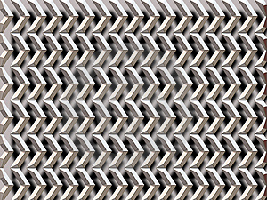 Silver Grid / Arrows Stock Images - Image: 1583324