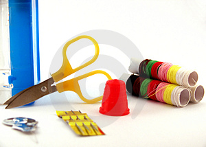 Sew Accessory Royalty Free Stock Images - Image: 1587199