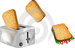 Toaster Royalty Free Stock Images - Image: 15801009