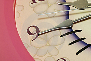 Clock Hands Royalty Free Stock Photography - Image: 15801417