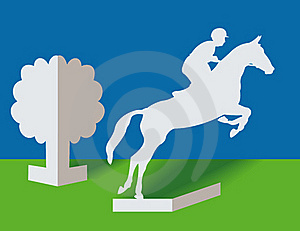 Horseman Royalty Free Stock Images - Image: 15801959