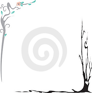 Plant Frame Royalty Free Stock Photography - Image: 15801967