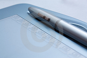 Graphics Tablet Royalty Free Stock Photo - Image: 15803145