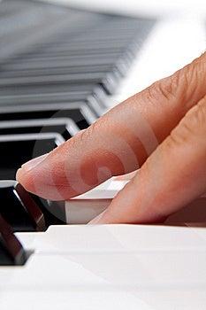 Electronic Piano Keyboard Stock Photos - Image: 15805613