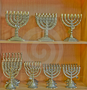 Menorah . Stock Photography - Image: 15806192