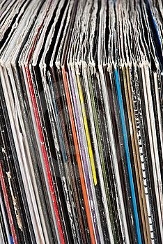 Used Vinyl Records Stock Photo - Image: 15809700