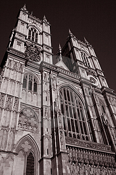 Main Facade Of Westminster Abbey Stock Images - Image: 15812024
