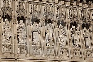 Westminster Abbey Church Facade Stock Photo - Image: 15812240