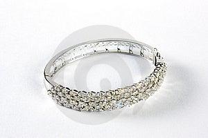 Diamond Bracelet Royalty Free Stock Photo - Image: 15815155