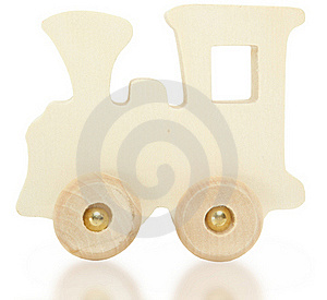 Toy Wooden Train Royalty Free Stock Photography - Image: 15818507
