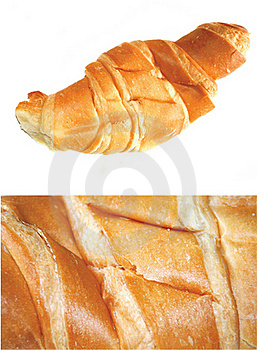 Croissant With Butter Royalty Free Stock Photo - Image: 15819345
