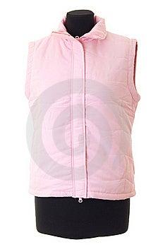 Female Winter Jacket   Isolated Royalty Free Stock Photos - Image: 15820718