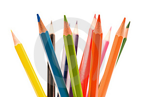 Multicolor Pencils Royalty Free Stock Image - Image: 15821546